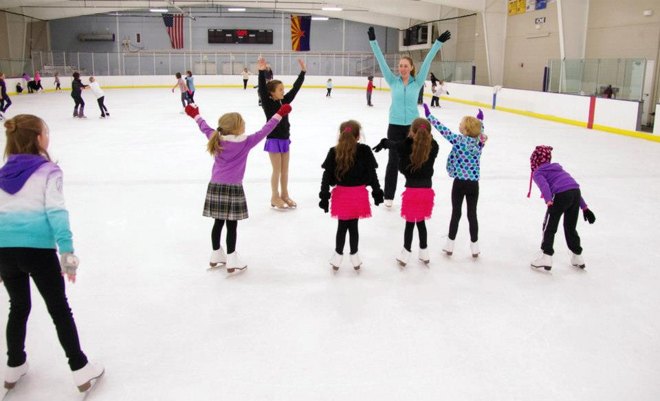 The Easiest Way to Ice Skate - wikiHow