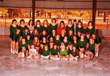FFSC skaters in the 1980's