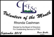 Volunteer of the Month